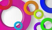 Plano de fundo para o texto com círculos — Vetorial Stock