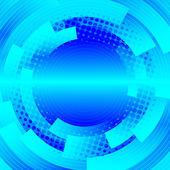 Disco abstrakt mit kreisen und punkten — Stockvektor