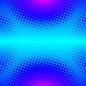 Абстрактный фон диско с кругами и точек — Cтоковый вектор