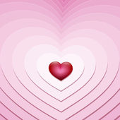 маленькое сердце — Cтоковый вектор