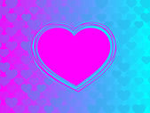 Abstract heart background — Stock Vector