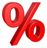 Percent sign — Stock Vector