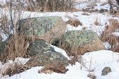 Heap of old stones — Foto de Stock
