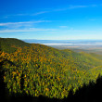 Landscape from Balea Lake in Fagaras mountains, romania, Europe — Stock Photo #22899336