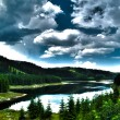 Mountain lake landscape - HDR — Stock Photo #22899398