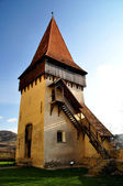 The fortified church from Biertan, Transylvania, UNESCO heritage — Stock Photo