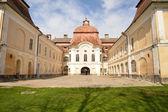 Medieval castle in Romania, Gornesti, built by Joseph Teleki — Stock Photo