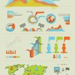 Infographics set 01 — Stock Photo
