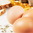 Royalty-Free Stock Photo: Eggs for breakfast