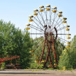 Постер, плакат: Abandoned ferris wheel in Pripyat