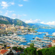 Monte Carlo city panorama. — Stock Photo