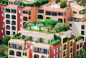 Apartments in the port of Monaco — Stock Photo