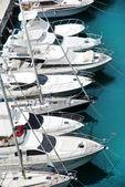 Luxury yachts in harbor of Monaco — Stock Photo