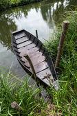 Boat on shore — Stock Photo