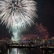 July 4th Fireworks, Boston — Stock Photo