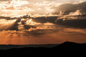Sunset over Windhoek, Namibia — Stock Photo