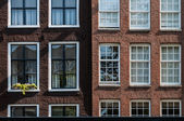 Typical Amsterdam house — Stock Photo