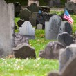 Granary Burying Ground, Boston — Stock Photo