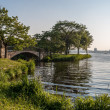 Stock Photo: Charles River Esplanade