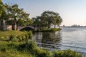 查尔斯河滨海艺术中心 — 图库照片