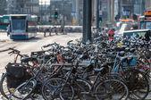 Vélos à amsterdam — Photo