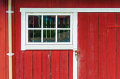 Norwegian house — Stock Photo