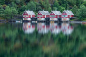 Houses in Flam — Stock Photo
