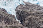Briksdalsbreen glacier — Stock Photo