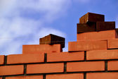 Masonry-brick — Stock Photo