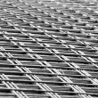 Welded mesh of steel reinforcement — Stock Photo #23924039