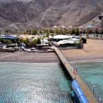 View on underwater observatory. Eilat undersea sail — Stock Photo