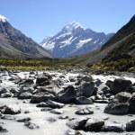 Glacier valley — Stock Photo
