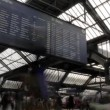 Zurich Train station — Stock Video