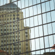 Постер, плакат: Boston Skyscrapers reflection windows