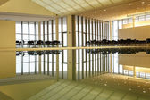 Office Building interior reflection — Stock Photo
