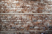 Brick Wall in Cafe in New York — Stock Photo