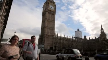Westminster tower big ben — Stock Video
