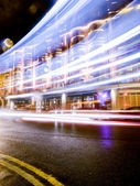 London's streets at Night — Stock Photo