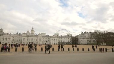 Horse guards parade building — Stock Video