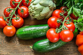Vegetables from farm — Foto Stock