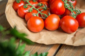 Vegetables from farm — Stock Photo