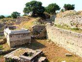 Ruins of Troia — Stock Photo