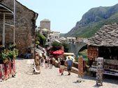 Bazaar lane in Mostar — Stock Photo