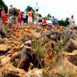 Stock Photo: Rocky road to God,Medjugorje