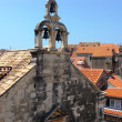 Bells and belfry,Dubrovnik,Croatia — Stock Photo