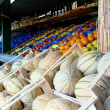 Fruits at market stall — Stockfoto #24015611