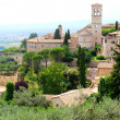 Royalty-Free Stock Photo: Panorama of Assisi,Italy