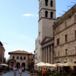 Stockfoto: Piazzdel Comune in Assisi,Italy