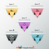 современные инфографики параметры баннер — Cтоковый вектор