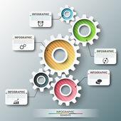 Modern infographic options banner. — Stock Vector